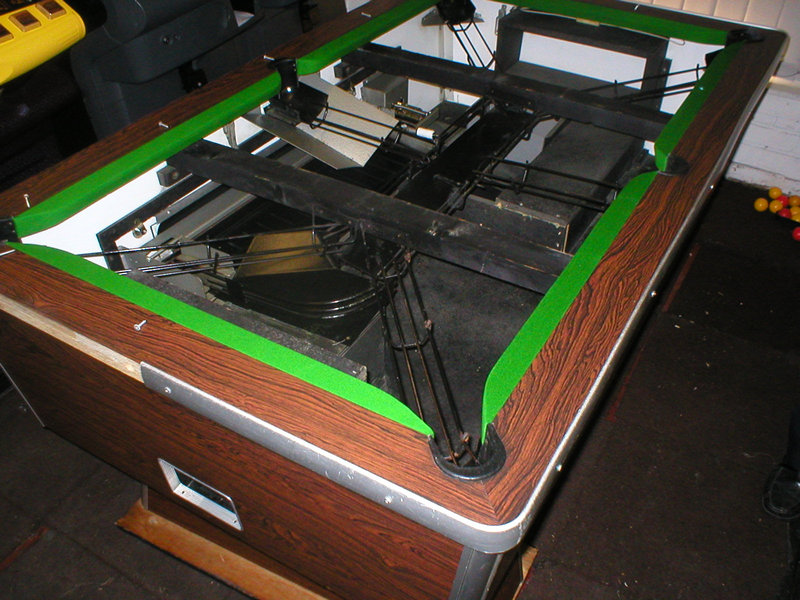 Recoveryreconditioning - Billiard table recovering